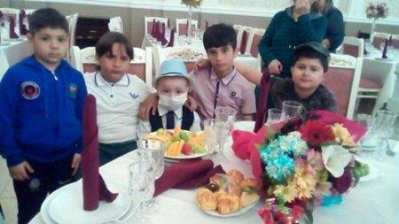 Qan xəstəsi olan  5 yaşlı Turan üçün xeyriyyə tədbiri keçirildi