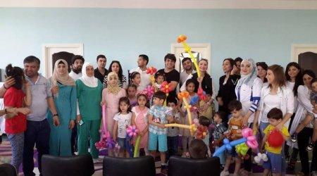 1iyun- Uşaqların Beynəlxalq Müdafiəsi günü ilə bağlı tədbir kecirilib.