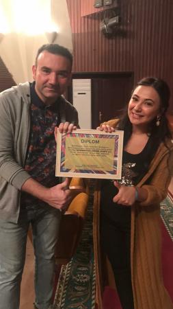 """Səbinə Məmmədovanın yeni rejissor işi : """"Ürəyə düş"""""""